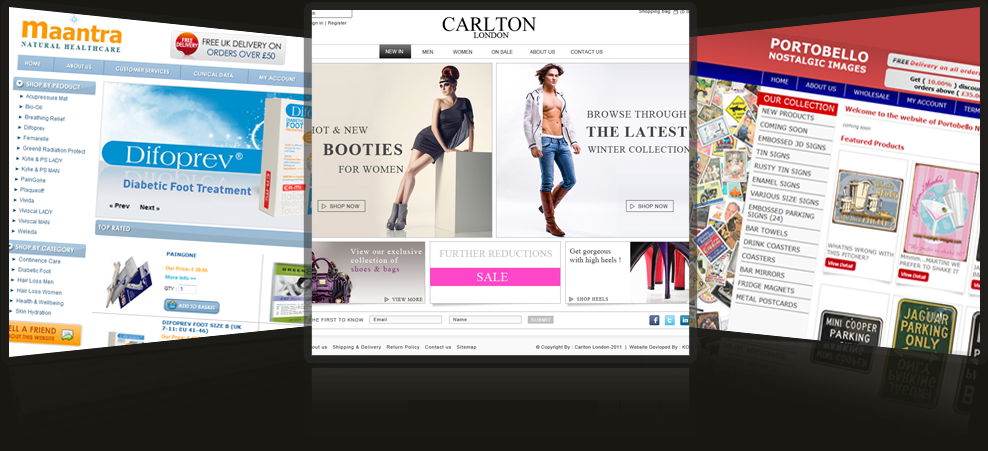 powerful ecommerce websites