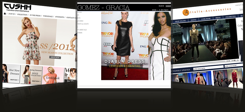Fashion forward E-commerce websites
